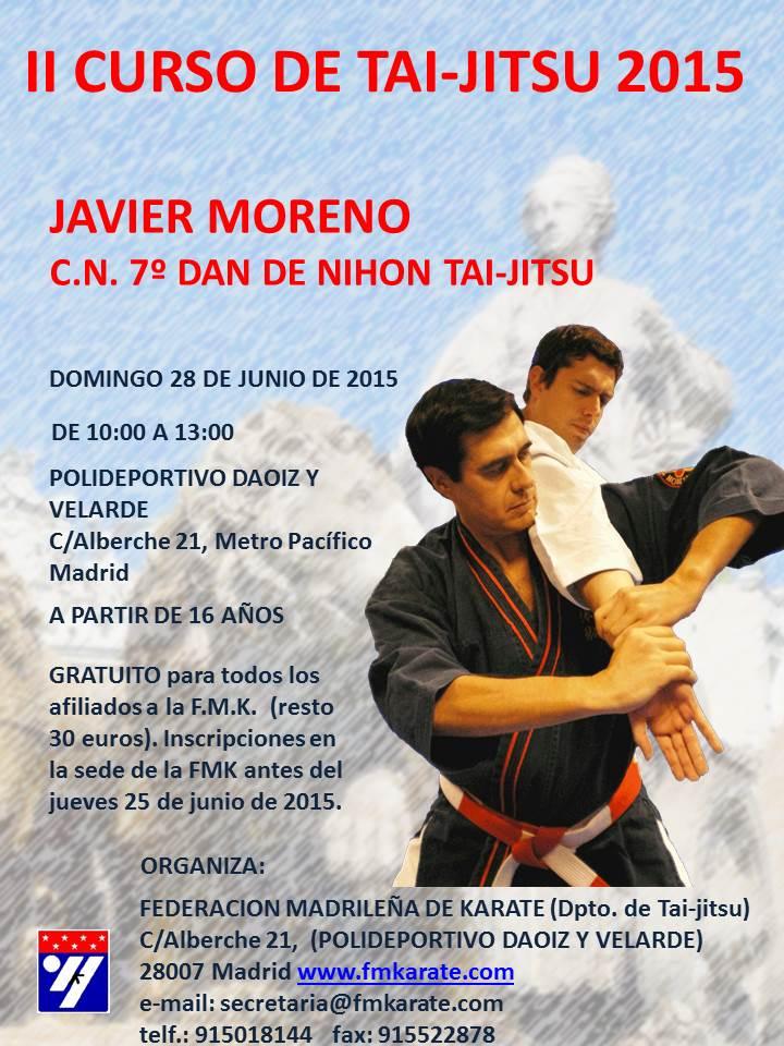 Póster curso NTJ Madrid FMK 28-06-15