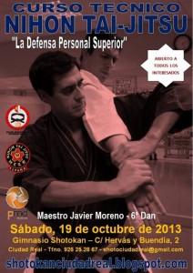 Poster-Curso-Javier-Ciudad-Real-19-10-13